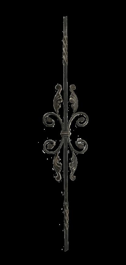 Кованый элемент: балясина кованая HKN82 (Высота 900 мм)